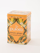 Pukka Lemon, Ginger & Manuka Honey Reusable Display Tin