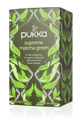 Pukka Supreme Matcha Green Tea Tag & Env Bags (20)