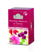 Ahmad Rosehip Hibiscus & Cherry Tag & Envelope Infusion (20)