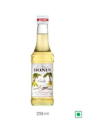 Monin Flavoured Syrup - Vanilla (6 x 25cl Retail)