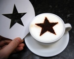 Coffee Stencil - Star