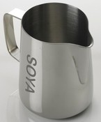 'Soya' Etched Stainless Steel Frothing Jug (0.6 L)