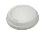 Vegware Compostable White Lid for 12/16oz Cup (1,000)