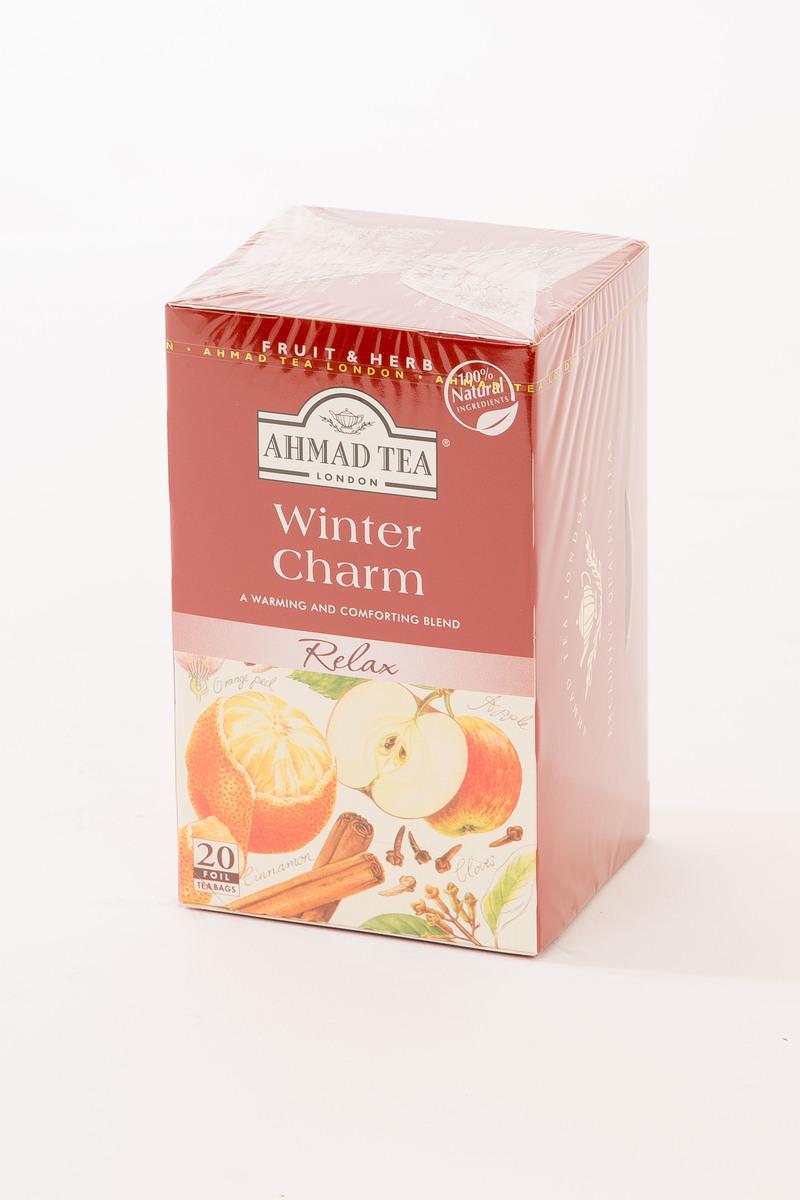 Ahmad Winter Charm Tag & Envelope Black Tea (20)