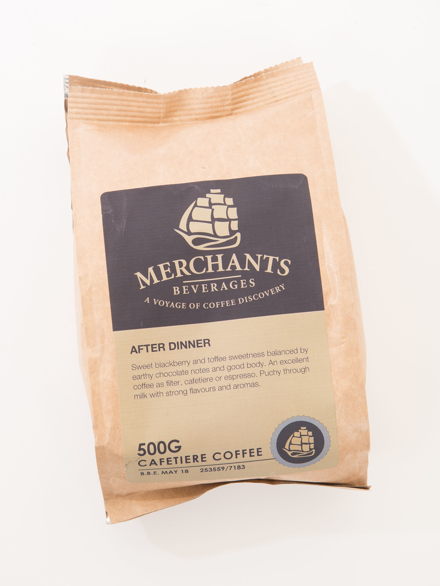 Merchants After Dinner Cafetiere Grind Coffee (12 x 500g)