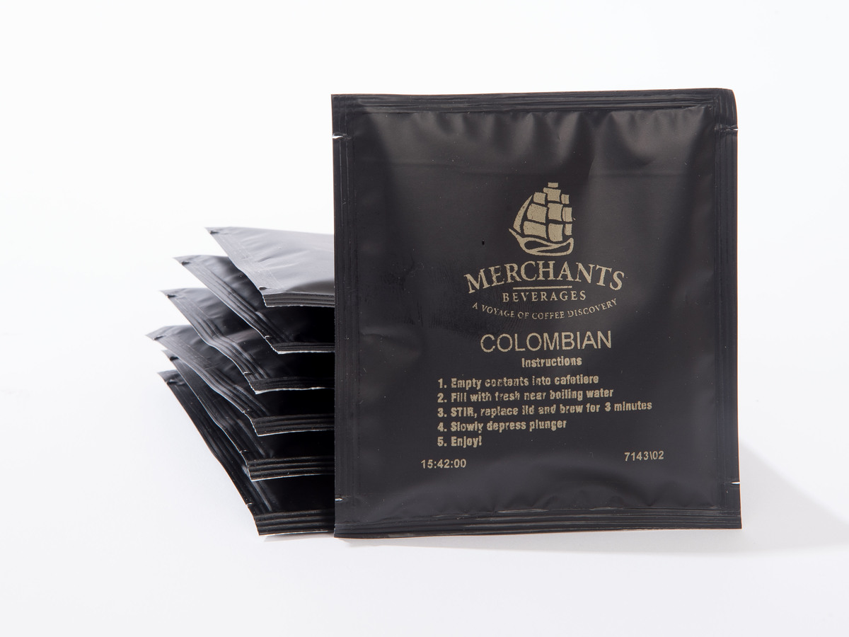Merchants Colombian Cafetiere Sachets (100 x 15g)