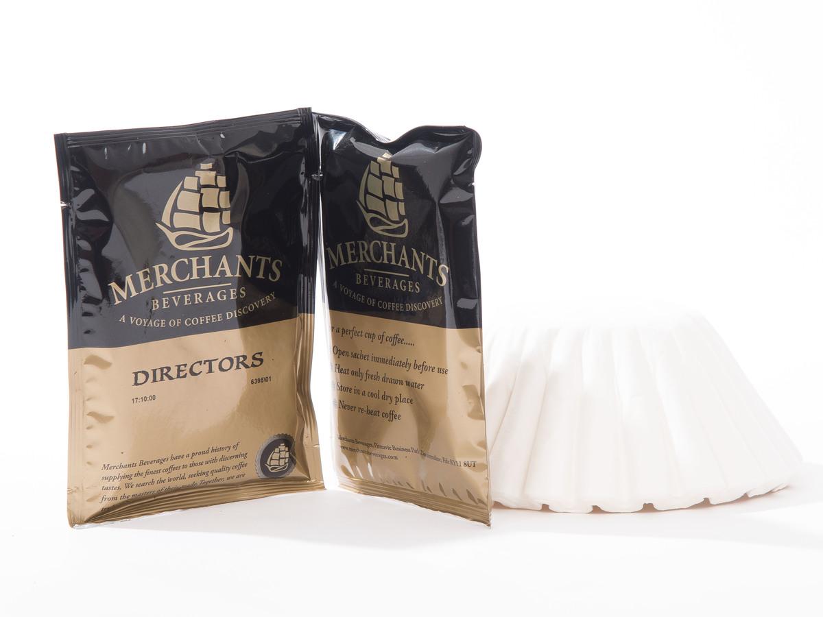 Merchants Directors Filter Coffee Sachets (50 x 3 Pint)