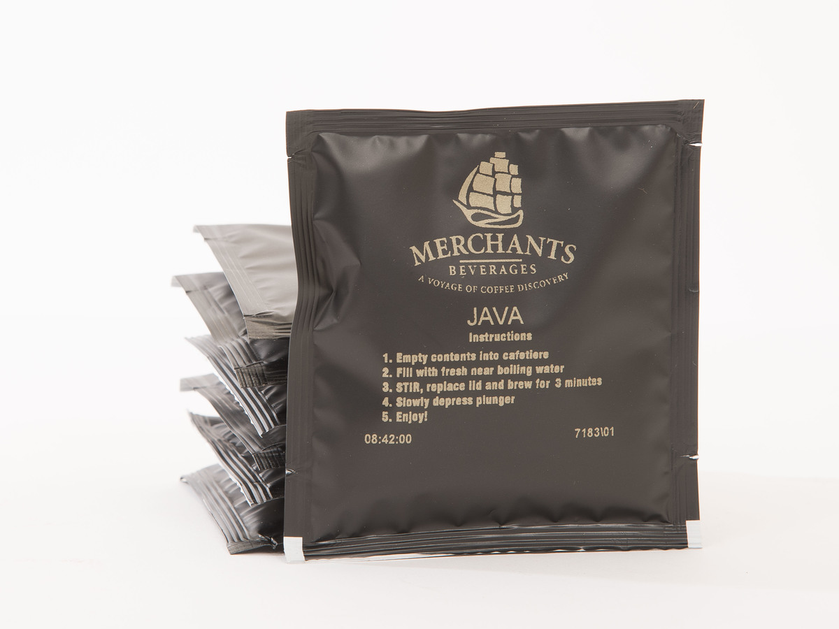 Merchants Java Cafetiere Sachets (100 x 15g)