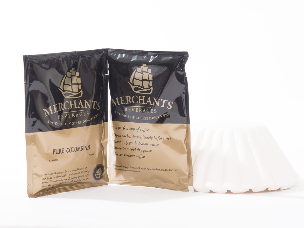Merchants Pure Colombian Filter Coffee Sachets (50 x 3 Pint)
