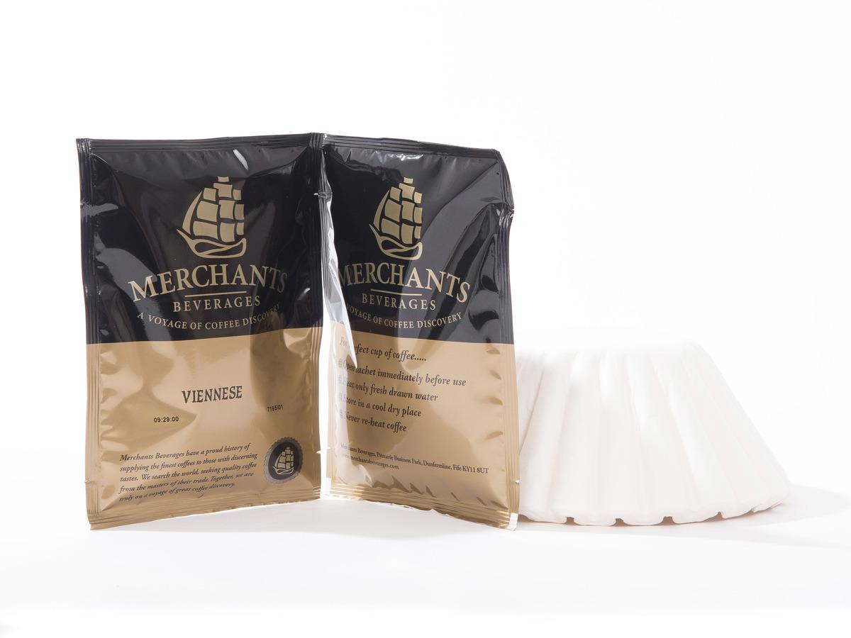 Merchants Viennese Blend Filter Coffee Sachet (50 x 3 Pint)