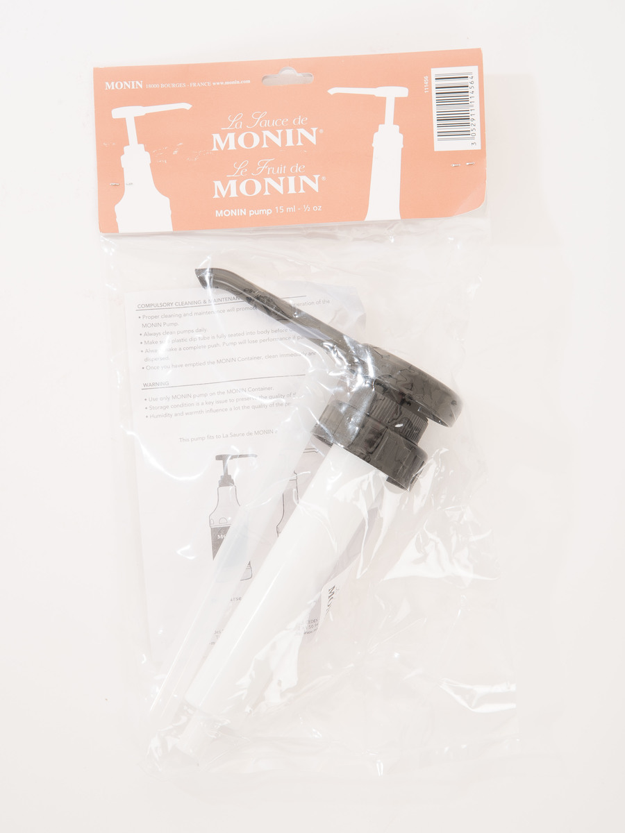 Monin Gourmet Sauce Pump For use with 1.89 Litre Bottles