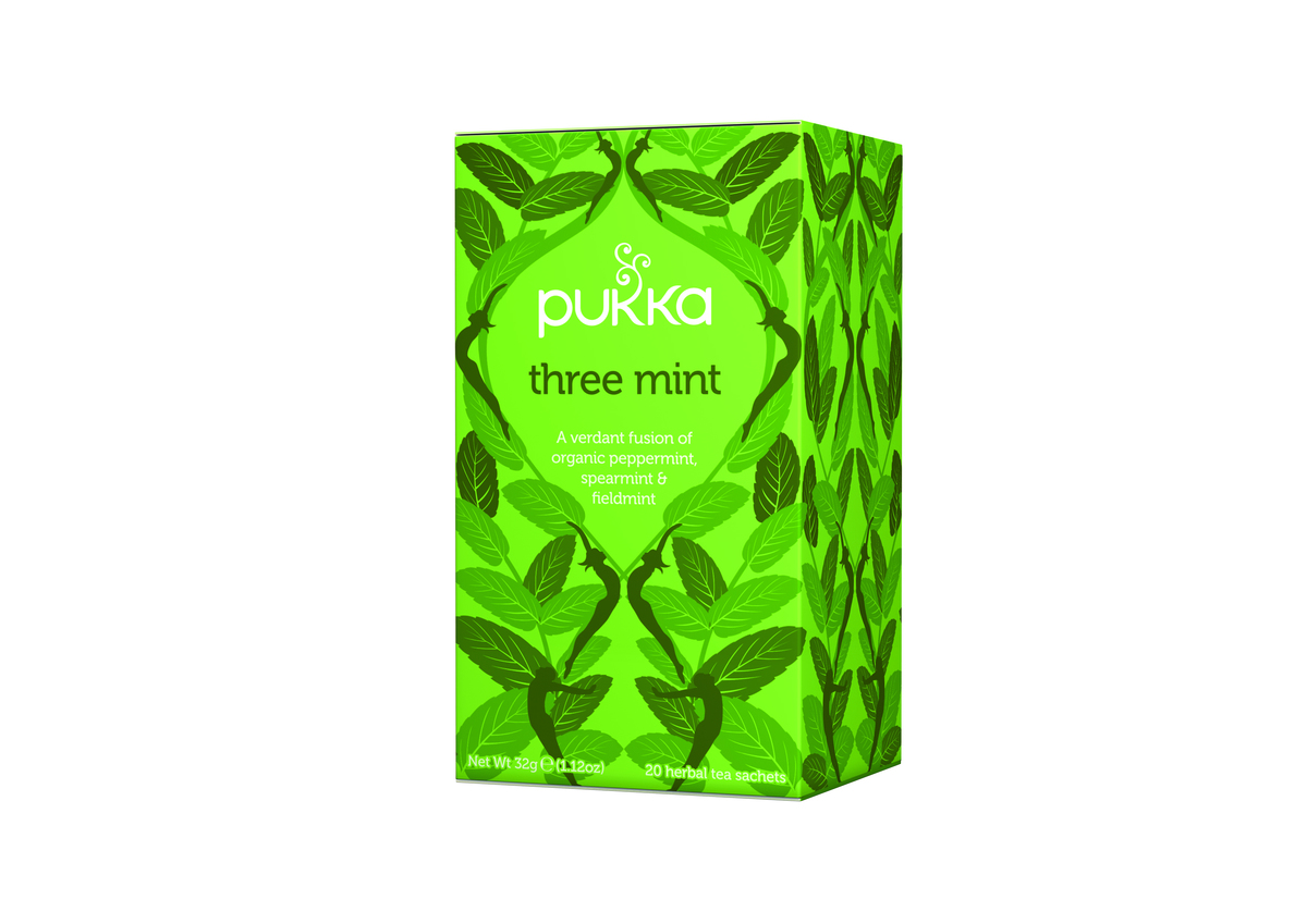 Pukka Three Mint Tag & Envelope Bags (20)