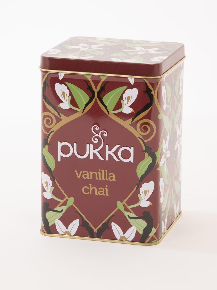Pukka Vanilla Chai Reusable Display Tin
