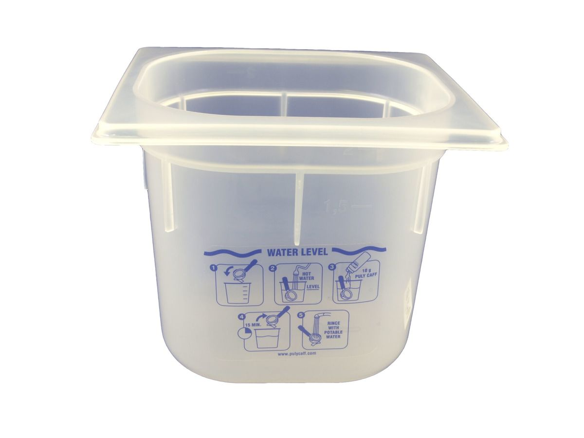 Puly Plastic Cleaning Basin