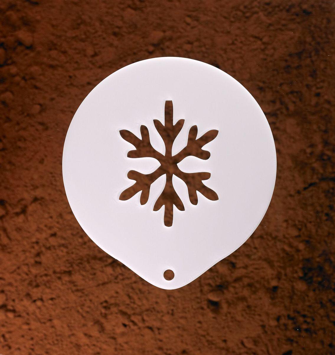 Coffee Stencil - Snowflake
