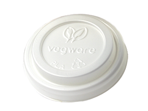 Vegware Compostable White Lid for 4oz Cup (2,000)