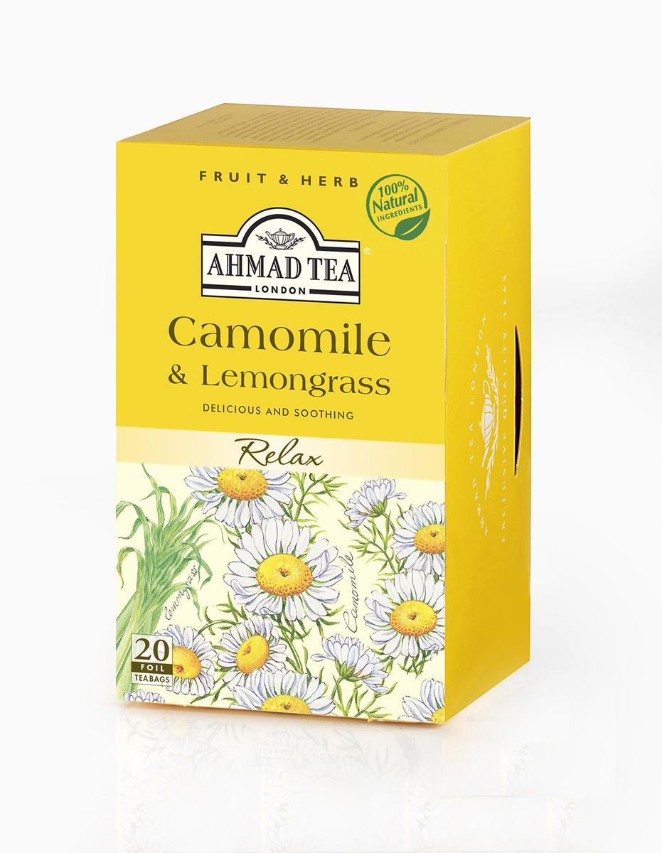 Ahmad Camomile & Lemongrass Tag & Envelope Infusion (20)