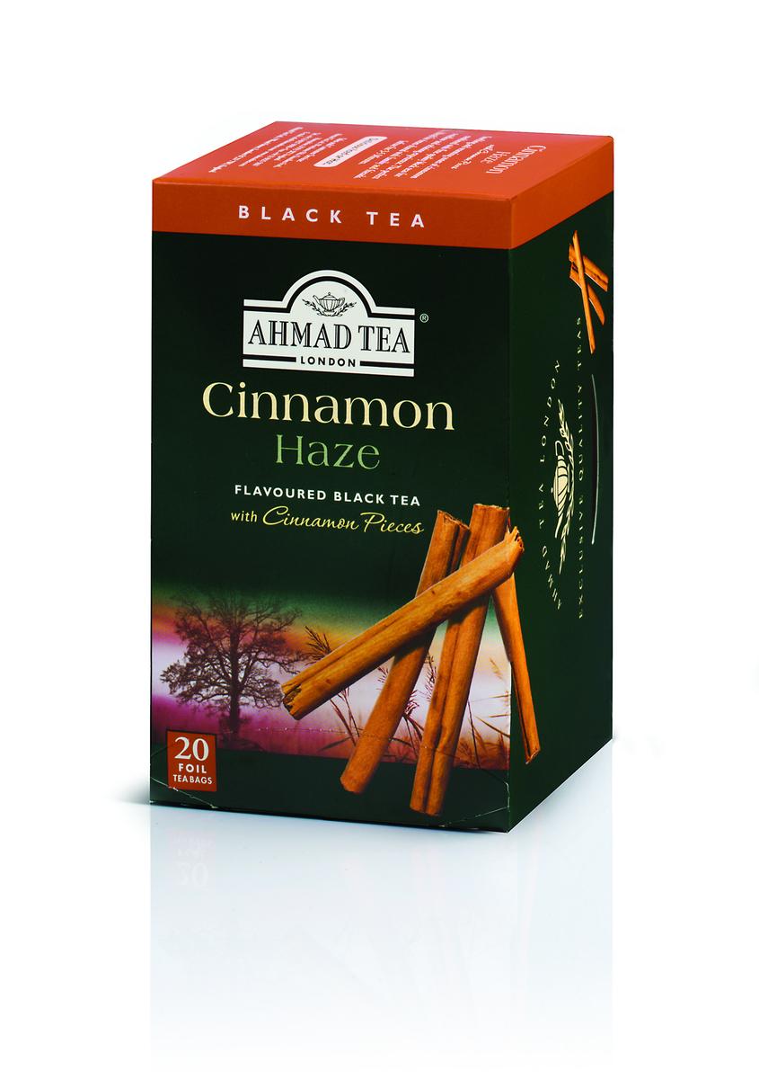 Ahmad Cinnamon Haze Tag & Envelope Black Tea (20)
