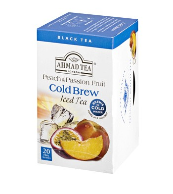 Ahmad Cold Brew Peach & Passionfruit Black Tea (20)