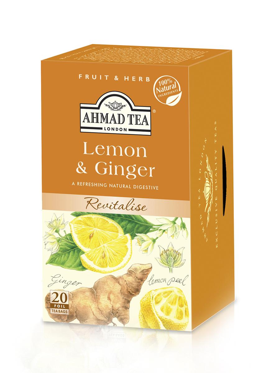 Ahmad Lemon & Ginger Tag & Envelope Infusion (20)