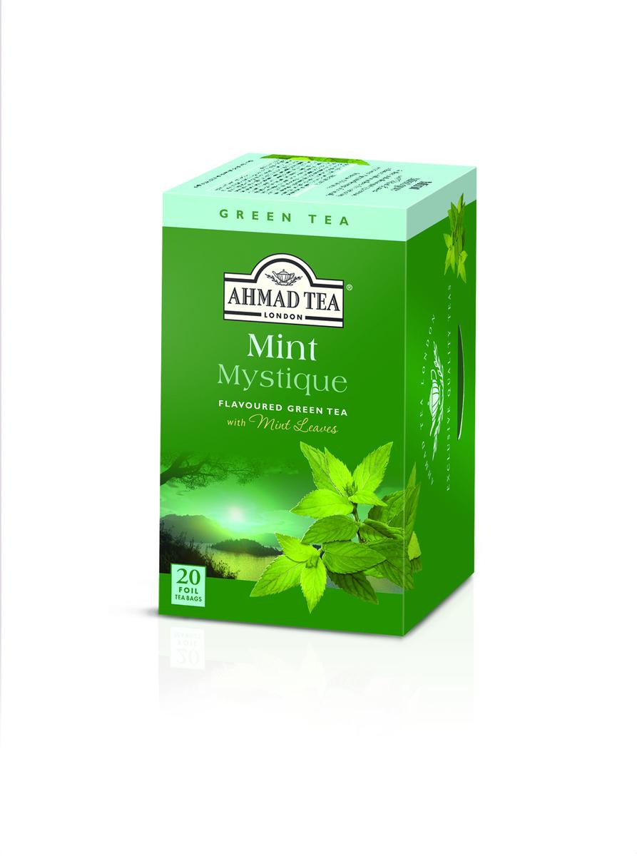 Ahmad Mint Mystique Tag & Envelope Green Tea (20)