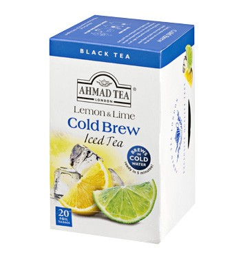 Ahmad Cold Brew Lemon & Lime Black Tea (20)