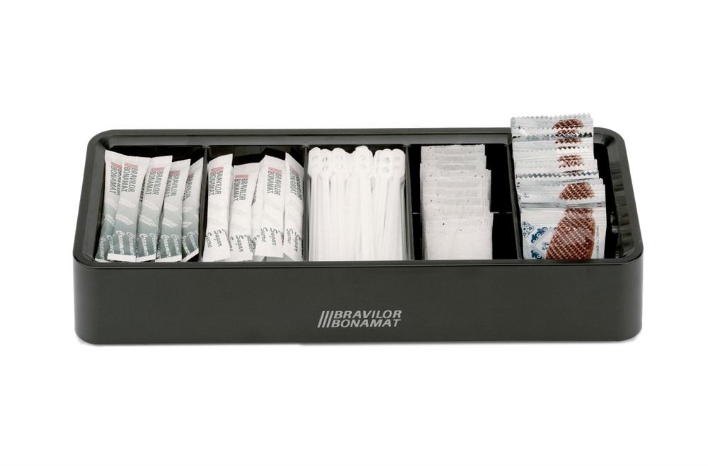 Bravilor 5 Compartment Ingredient Display Box