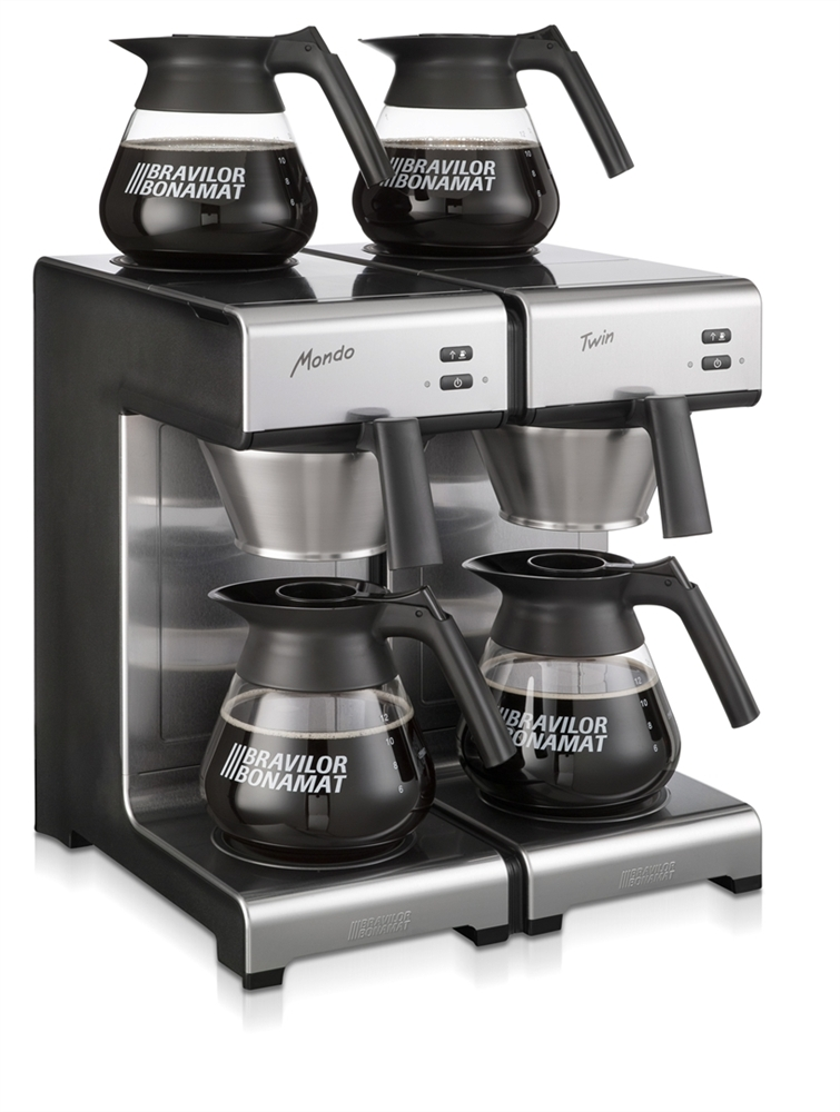 Bravilor Mondo Twin Unplumbed Filter Coffee Machine