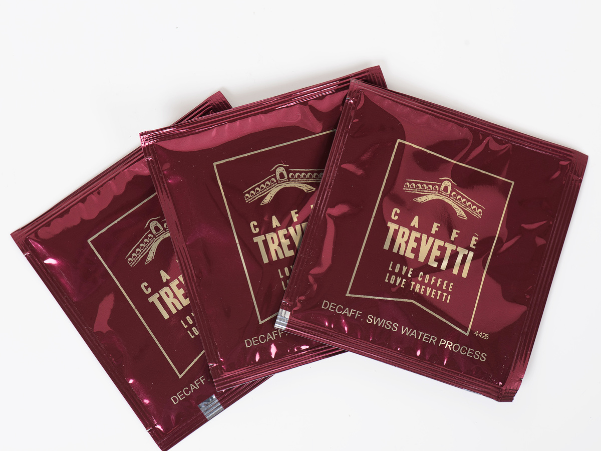 Caffe Trevetti Preground SWP Decaf Espresso  (50 x 7g)