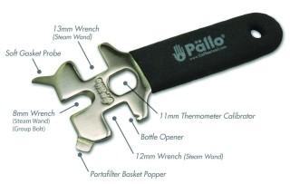 Pallo Caffeine Wrench (Traditional Espresso Machiine Tool)