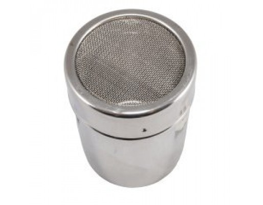 Large Stainless Steel Topping Shaker (with Grill)