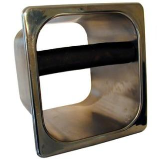 Open Waste Coffee Knock Box (Stainless Steel)