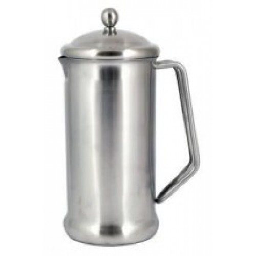 2 Cup (400ml) Cafetiere - Brushed Steel Finish