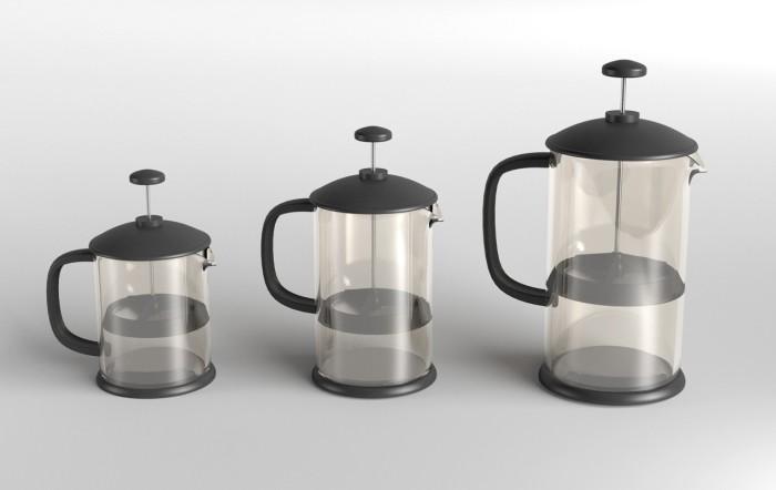 4 Cup Cafetiere - Polysulphone Infuzion Potz