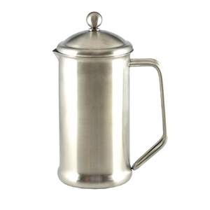 6 Cup Cafetiere - Stainless Steel Mirror Finish
