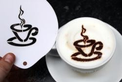 Coffee Stencil - Coffee Cup