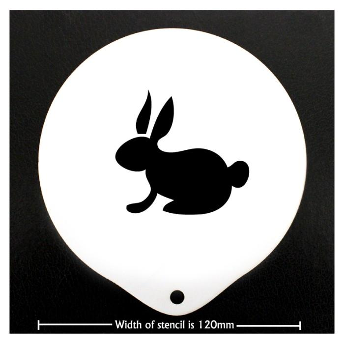 Coffee Stencil - Easter Bunny