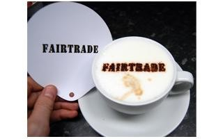 Coffee Stencil - Fairtrade