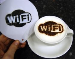 Coffee Stencil - WiFi